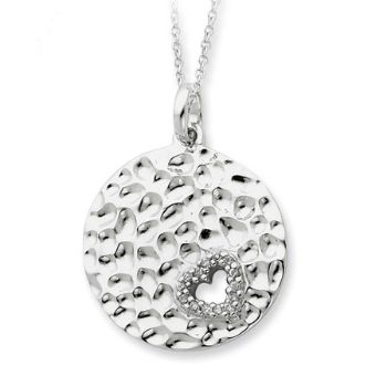 Picture of Silver I Wish You Enough Love Pendant