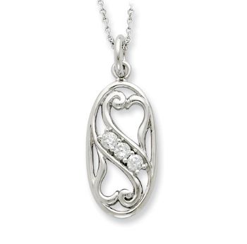 Picture of Silver My BFF, Best Friend Forever Pendant