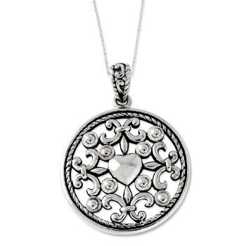 Picture of Silver Pendant, A Friend For All Seasons