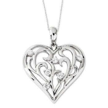 Picture of Silver Pendant, Friend Of My Heart