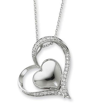 Picture of Silver Pendant, In My Heart