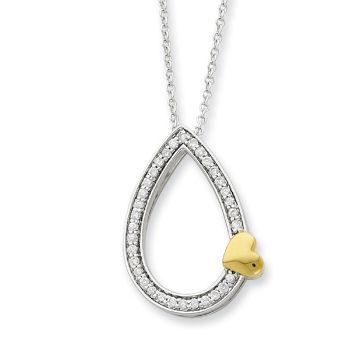 Picture of A Tear of Love, Silver Pendant