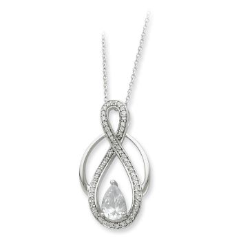 Picture of Tear of Strength, Silver Pendant
