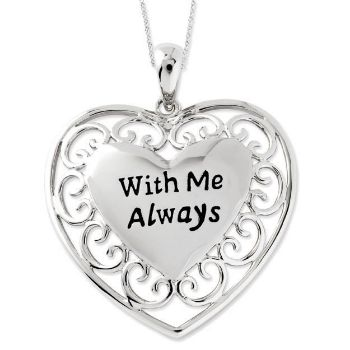 Picture of With Me Always, Silver Pendant