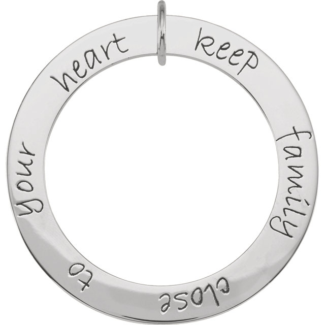 Picture of 6 Names Engravable FOREVER Loop