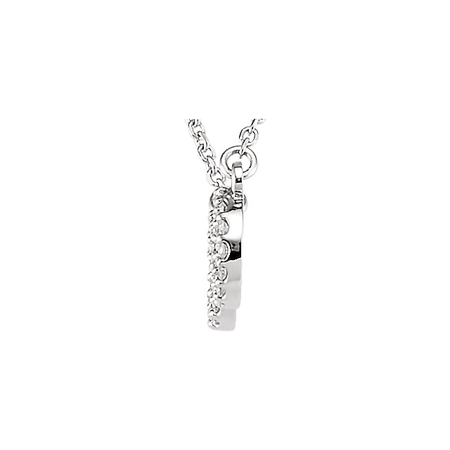Picture of Diamond Infinity Necklace