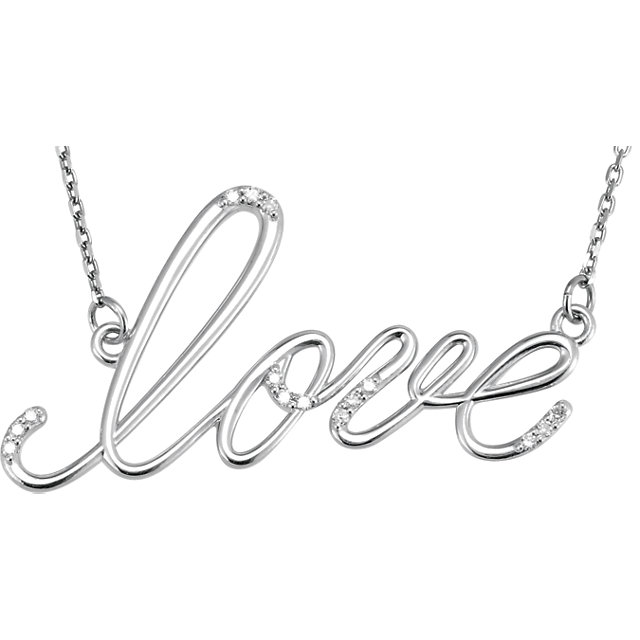 Picture of Diamond Love Necklace