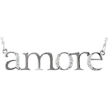 Picture of Diamond Amore Necklace