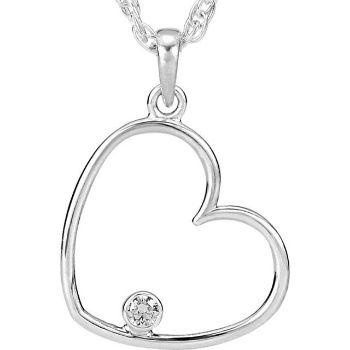 Picture of Diamond Heart Pendant