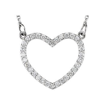 Picture of Diamond Heart Necklace