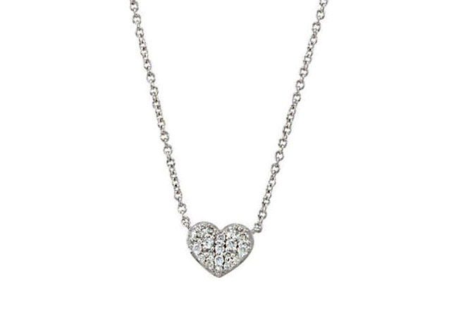 Picture of Diamond Mini Heart Necklace