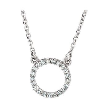Picture of Diamond Circle Necklace