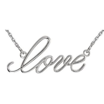 Picture of 14K Gold Love Necklace