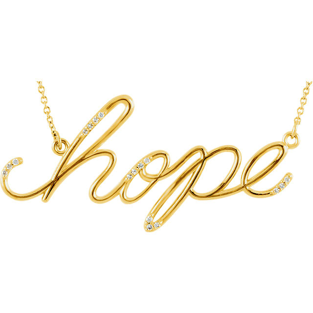 Picture of Diamond Hope Necklace