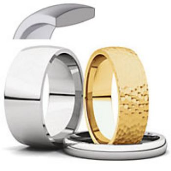 Picture for category Comfort Fit Light Wedding Bands