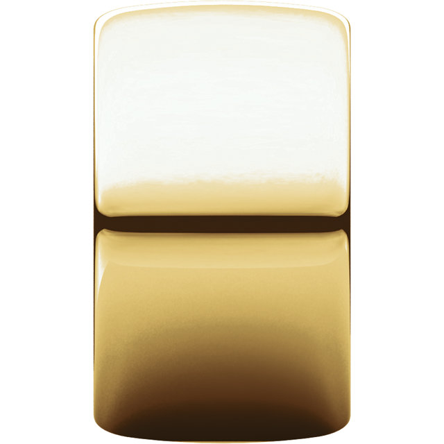 Picture of 14K Gold 12 mm Half Round Band