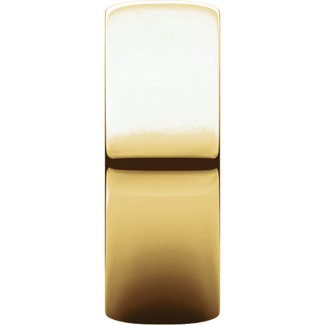 Picture of 14K Gold 7 mm Half Round Light Band