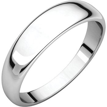 Picture of 14K 5 mm Half Round Tapered Band