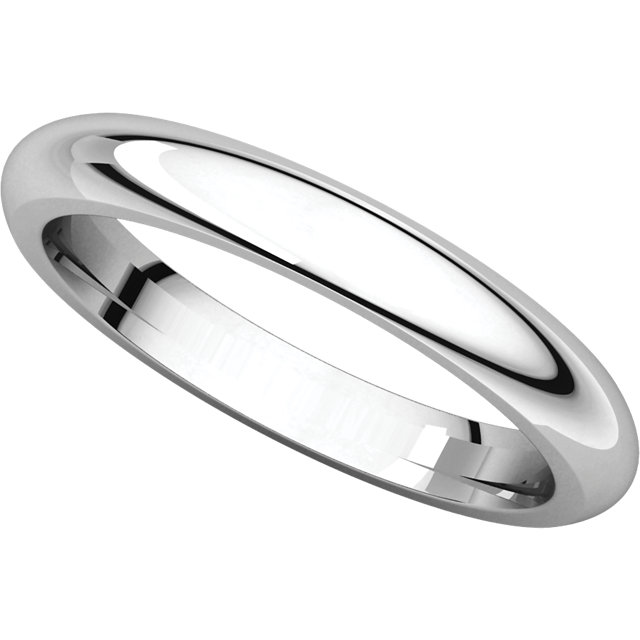 Picture of 14K Gold 3 mm Comfort Fit Wedding Band