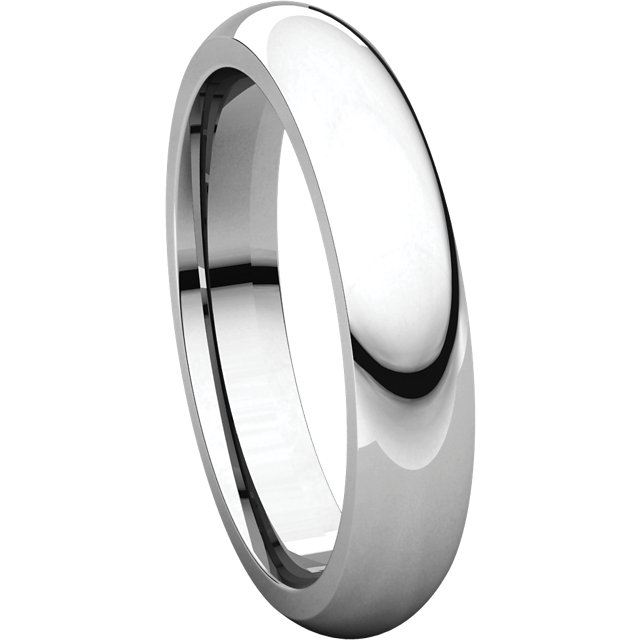 Picture of 14K Gold 4 mm Comfort Fit Wedding Band