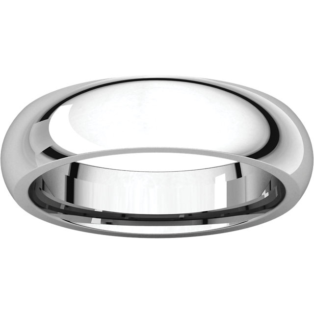 Picture of 14K Gold 5 mm Comfort Fit Wedding Band