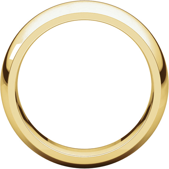 Picture of 14K Gold 7 mm Comfort Fit Wedding Band
