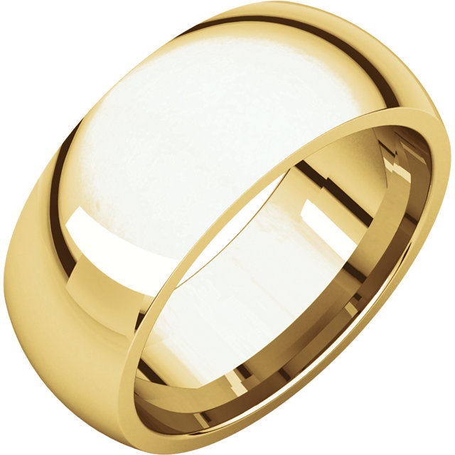 Picture of 14K Gold 8 mm Comfort Fit Wedding Band