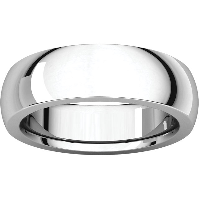 Picture of 14K Gold 6 mm Comfort Fit Heavy Wedding Band