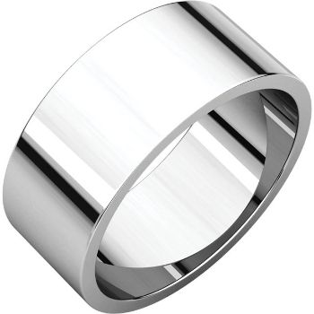 Picture of 14K Gold 8 mm Flat Wedding Band