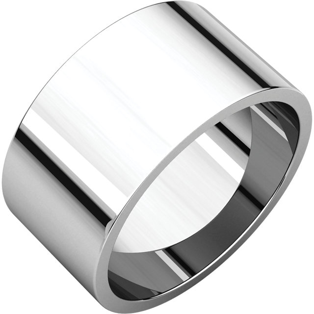 Picture of 14K Gold 10 mm Flat Wedding Band