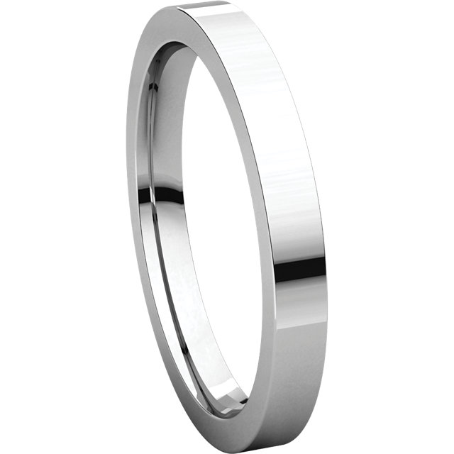 Picture of 14K Gold 2.5 mm Flat Comfort Fit Band