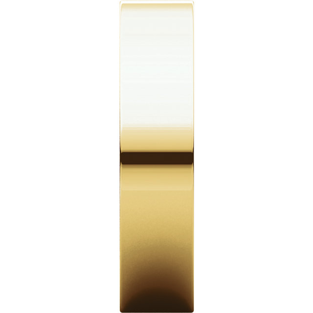 Picture of 14K Gold 5 mm Flat Comfort Fit Band