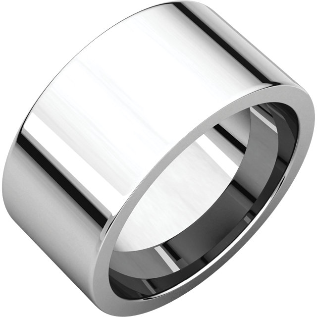 Picture of 14K Gold 10 mm Flat Comfort Fit Band