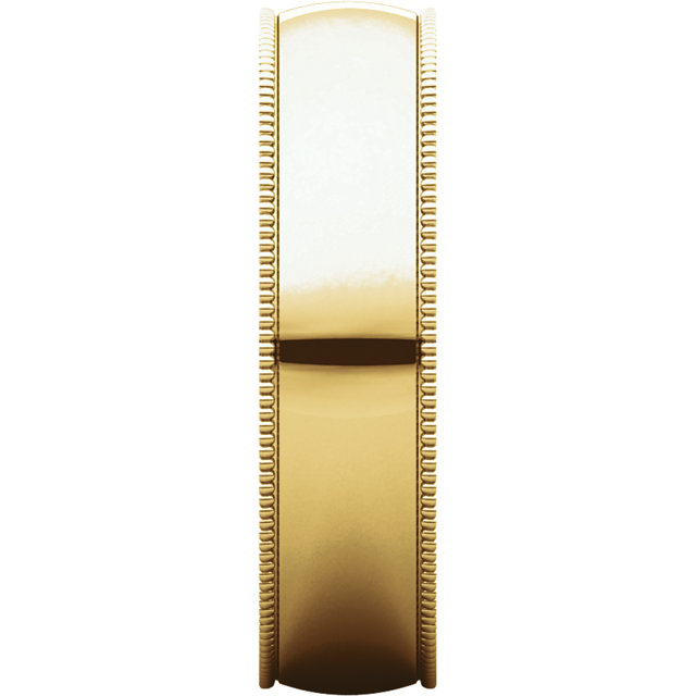 Picture of 14K Gold 5 mm Milgrain Lightweight Band