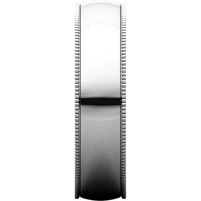 Picture of 14K Gold 5 mm Milgrain Light Comfort Fit Band
