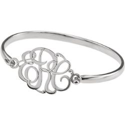 Picture for category Monogram Bracelets Personalized Silver or Gold