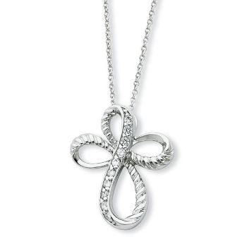 Picture of Endless Hope, Silver Cross Pendant