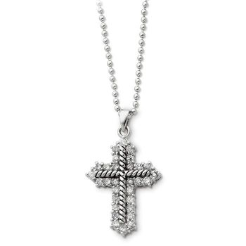 Picture of Eternal Perspective, Silver CZ Pendant