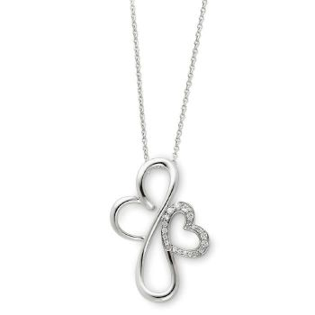 Picture of Everlasting Love, Silver Heart Pendant