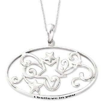 Picture of I Believe In You, Silver Pendant
