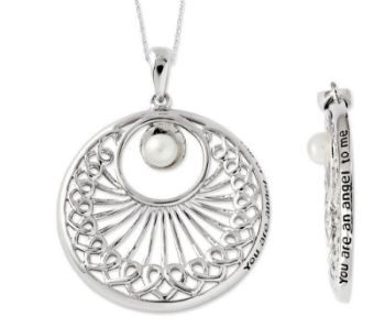 Picture of You Are An Angel To Me, Silver Pendant