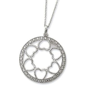 Picture of Fulness Of Blessings, Silver Pendant