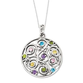 Picture of Kaleidoscope Of Wishes, Silver Pendant