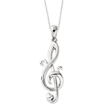 Picture of Love Notes, Silver Pendant