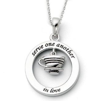 Picture of Serve One Another, Silver Pendant