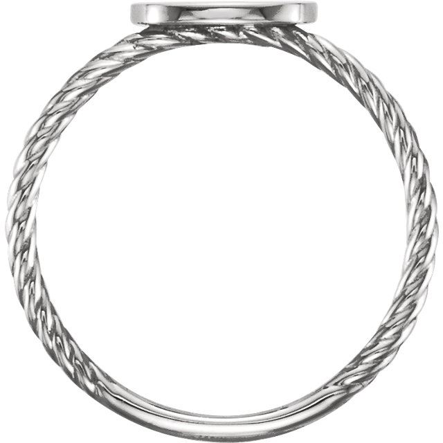 Picture of Posh Mommy Square Rope Ring