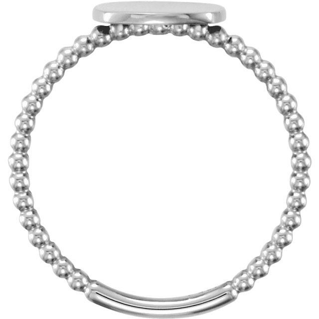 Picture of Posh Mommy Square Beaded Ring