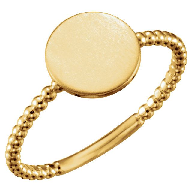 Picture of Posh Mommy Circle Beaded Ring