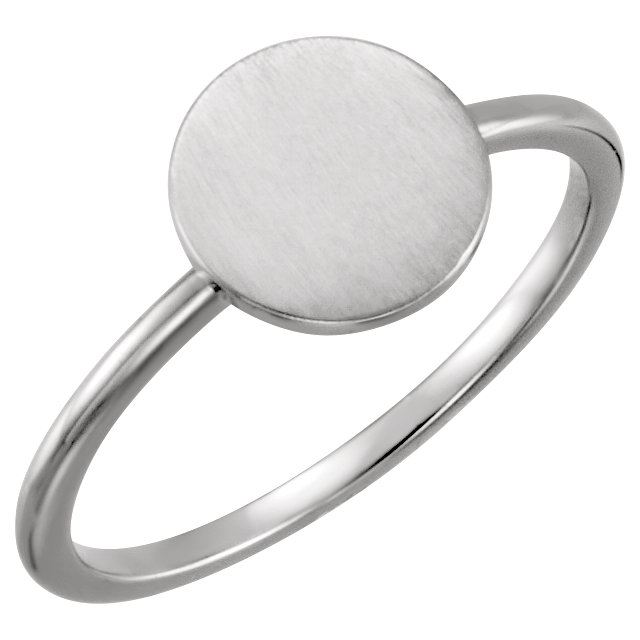 Picture of Posh Mommy Circle Plain Ring