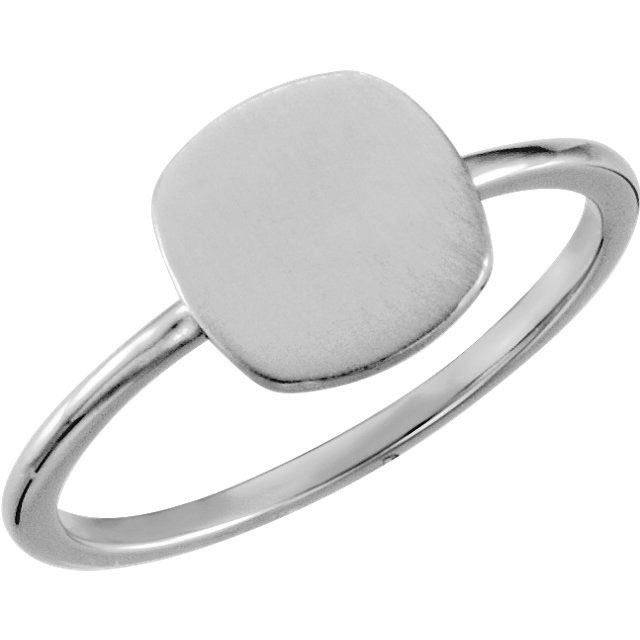 Picture of Posh Mommy Square Plain Ring